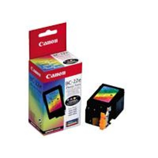 Canon 0902A002AA BC-22 Ink Cartridge - Photo Colour Genuine