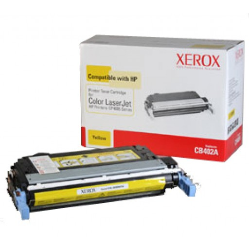 Xerox 003R99734 HP CB402A Compatible Toner - Yellow
