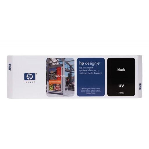 HP C1892A, Ink Cartridge Black, Designjet 2000cp, 2500cp, 2800cp, 3000cp- Original