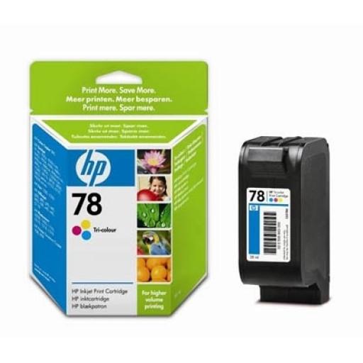 HP C6578AE No.78 Ink Cartridge - HC Tri-Colour Genuine