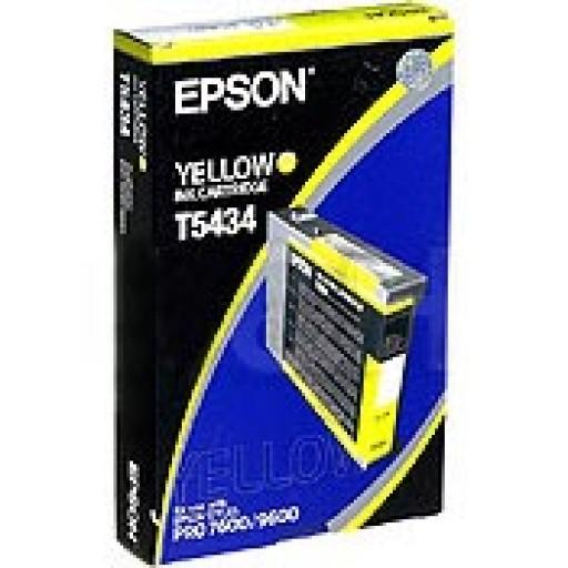 Epson T5434 Ink Cartridge - Yellow Genuine