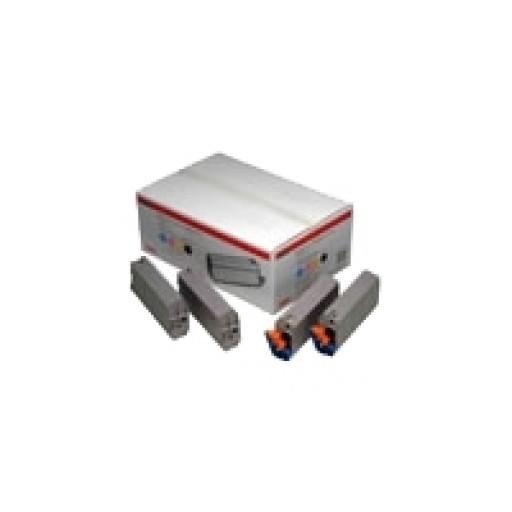 Oki 01101001 Toner cartridge- Colour Multipack, C7100, C7300, C7350, C7500- Genuine