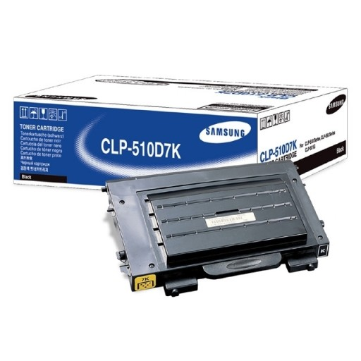 Samsung CLP-510D7K Toner Cartridge - HC Black Genuine