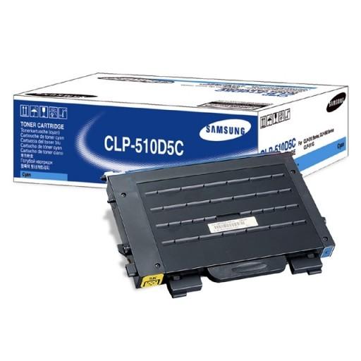 Samsung CLP-510D5C Toner Cartridge - HC Cyan Genuine