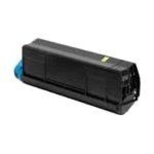 Oki 42804537 Toner Cartridge  HC Yellow,  C3200- Genuine