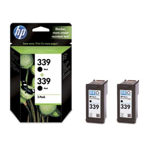 HP C9504EE No.339 Ink Cartridge - HC Black Multipack Genuine