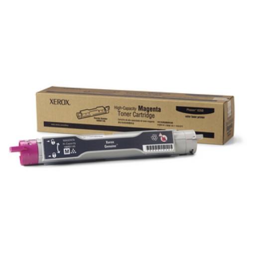 Xerox 106R01145, Toner Cartridge HC Magenta, Phaser 6350- Original