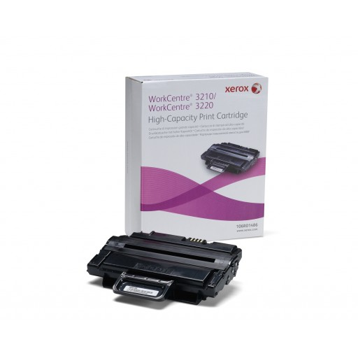 Xerox 106R01486, Toner Cartridge- HC Black, Workcentre 3210- Original
