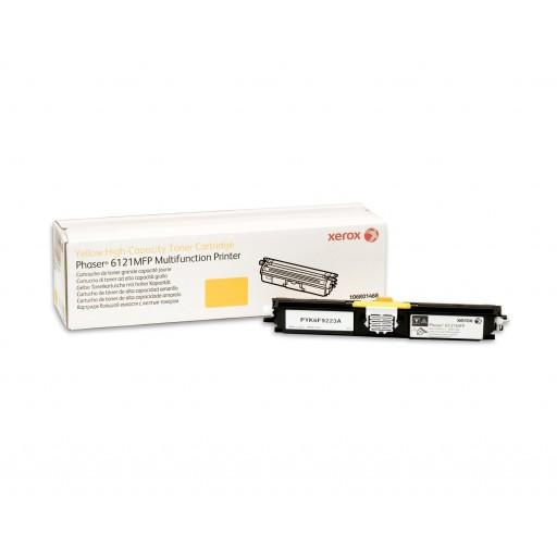 Xerox 106R01468, Toner Cartridge HC Yellow,  Phaser 6121- Original