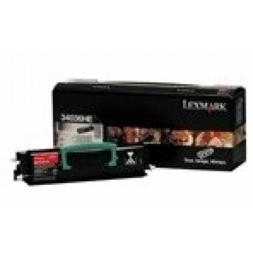 Lexmark 34016HE Toner Cartridge Return Program - HC Black Genuine
