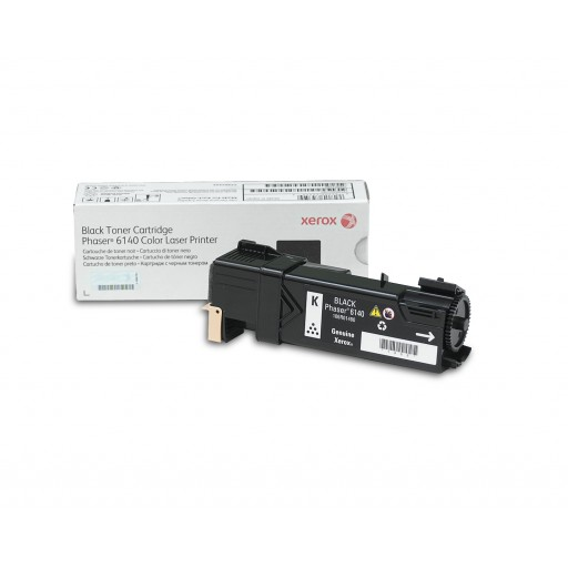 Xerox 106R01480, Toner Cartridge Black, Phaser 6140- Original