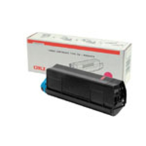 Oki 42127406 Toner Cartridge Magenta, C5000, C5100, C5200, C5300, C5400 Type C6- Genuine