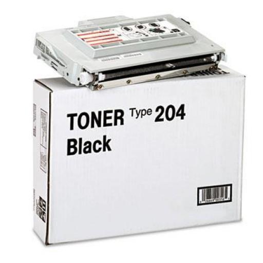 Ricoh 400316, Toner Cartridge Black, Type 204, AP204- Original