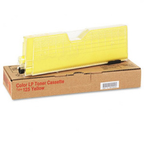 Ricoh 400841 Toner Cartridge Yellow, Type 125, CL2000, CL3000, CL3100 - Genuine