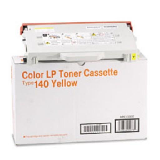 Ricoh 402100, Toner Cartridge Yellow, Type 140, CL1000, SP C210SF- Original