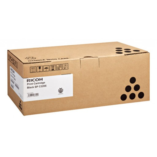 Ricoh 406052, Toner Cartridge Black, SP C220, SP C221, SP C222, SP C240- Original