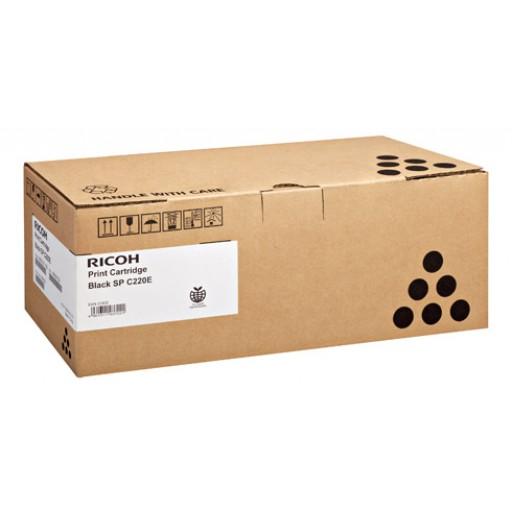 Ricoh 406765, Toner Cartridge Black, SP C220, SP C221, SP C222, SP C240- Original