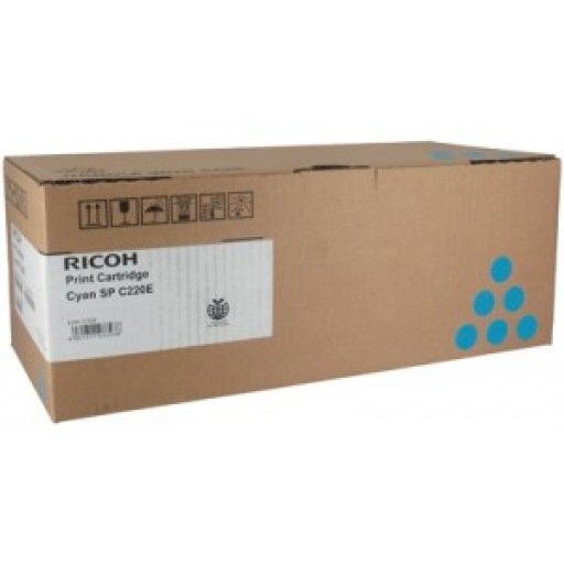 Ricoh 406097, Toner Cartridge Cyan, SP C220, SP C221, SP C222, SP C240- Original