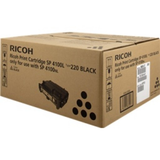 Ricoh 407652, Toner Cartridge Black, SP4100- Original
