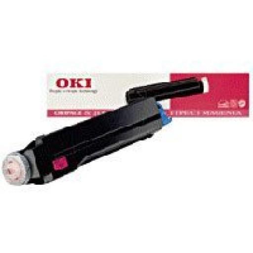OKI 41012307 Toner Cartridge, Page 8C - Magenta Genuine