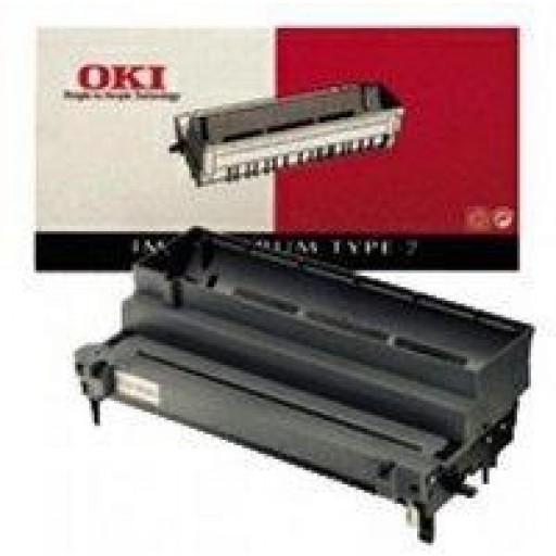 Oki 20, 24 Image Drum Unit - Black Genuine, Oki 41019502, Type 7