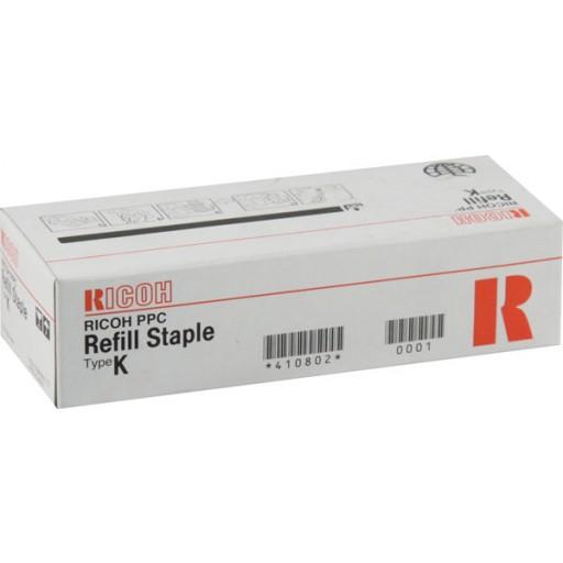 Ricoh 410802, Staple Cartridge, Type K, SR760, SR770, SR790, SR850- Original