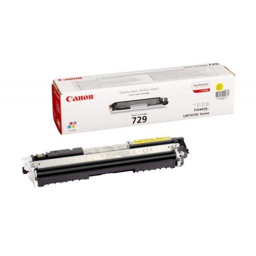 Canon 4367B002AA Toner Cartridge- Yellow,  LBP7010C, LBP7018C- Genuine