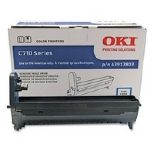 Oki 43913806, Image Drum Unit- Magenta, C710- Genuine