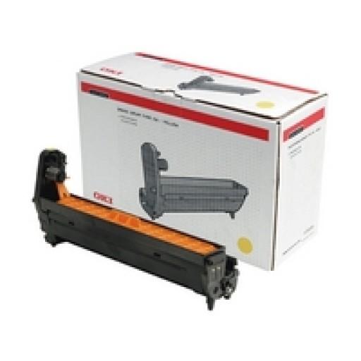 Oki 44064009, Image Drum Unit Yellow, C810, C821, C830, MC851, MC860- Original