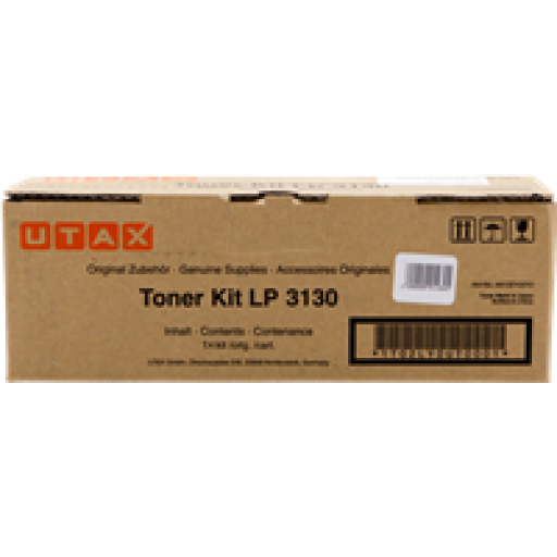 Utax 4413010010, Toner Cartridge - Black, LP 3130-  Genuine