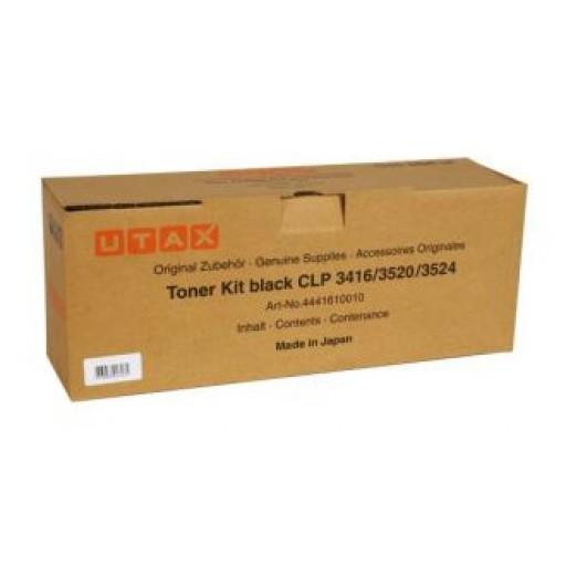 UTAX 4441610010, Toner Cartridge Black, CLP 3416, 3520, 3524- Original