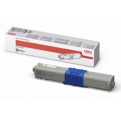Oki 44469704, C510/C530 Toner Cartridge - Yellow