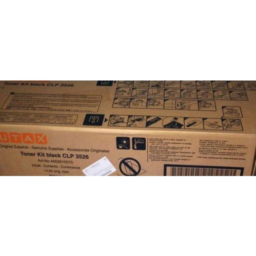 UTAX CLP 3526 Toner Cartridge - Black Genuine (4452610010)