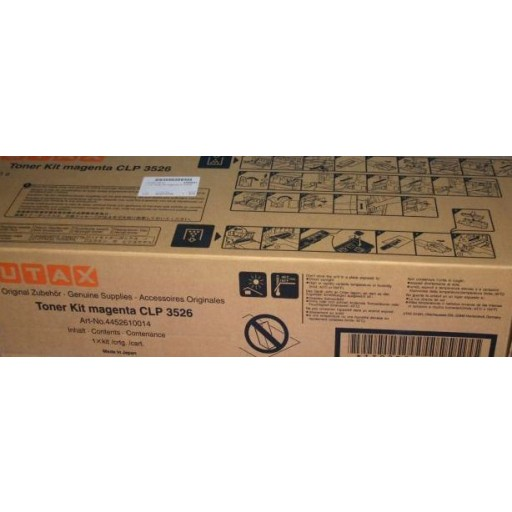 UTAX CLP 3526 Toner Cartridge - Magenta Genuine (4452610014)