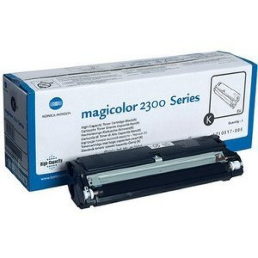 Konica Minolta 1710517005, Toner Cartridge HC Black, Magicolour2300, 2350- Original