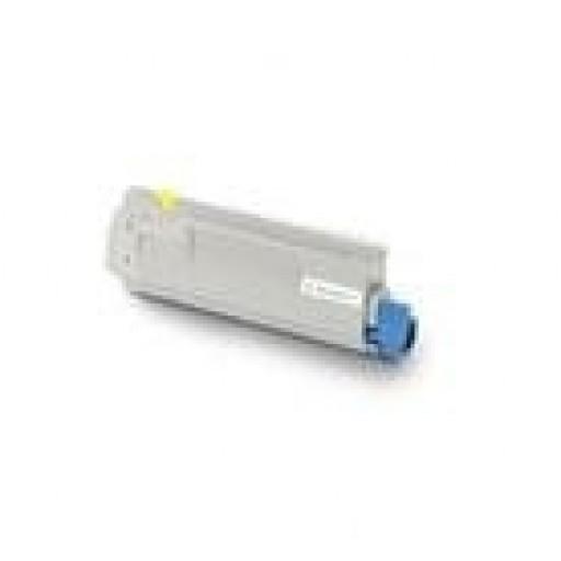 Oki 43381905 Toner Cartridge Yellow, C5600, C5700 - Genuine