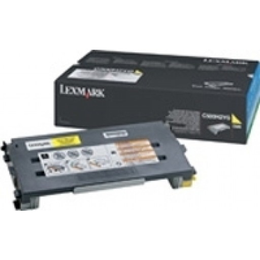 Lexmark C500H2YG, Toner Cartridge HC Yellow, C500- Original