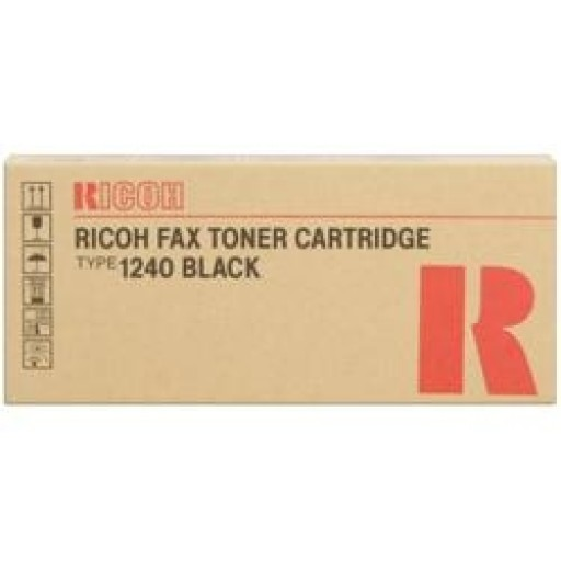 Ricoh 430278 Toner Cartridge Black, Type 1240, 1400L - Genuine