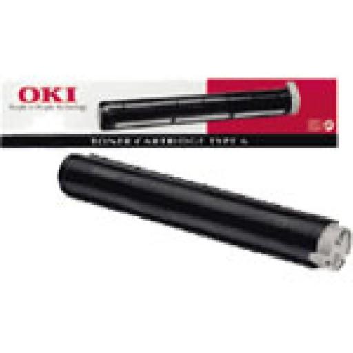 Oki 00079801, Toner cartridge- Black, OKIFAX 4500, 4550, 4580- Original