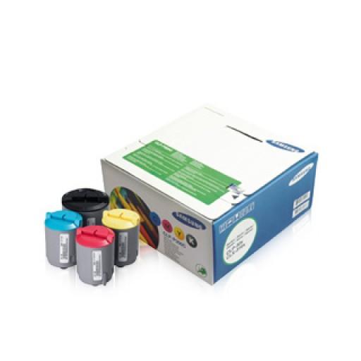 Samsung CLP-P300C Toner Cartridge - 4 Colour Multipack Genuine