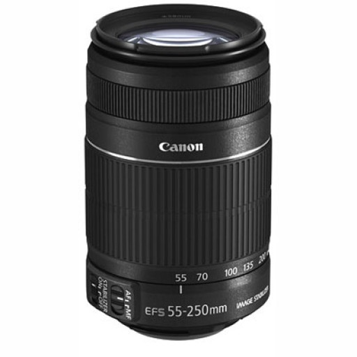 Canon Ef-s 55-250 f/4.0-5.6 Is II Lens