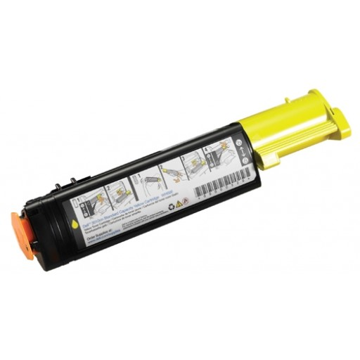 Dell 593-10066, Toner Cartridge Yellow, 3000cn, 3100cn- Original