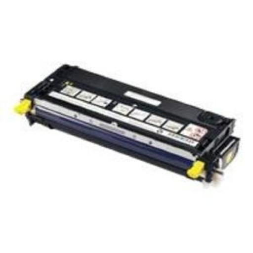 Dell 593-10295, Toner cartridge Yellow, 3130CN, G909C- Original