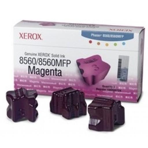 Xerox Phaser 8560 Solid Ink Sticks - 3 x Magenta Genuine (108R00724)