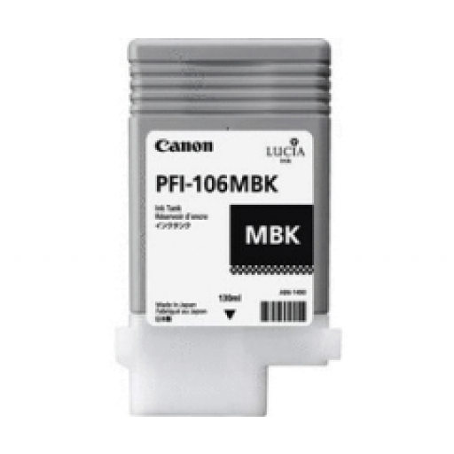 Canon PFI-106MBK Ink Tank - Matte Black, 6623B001