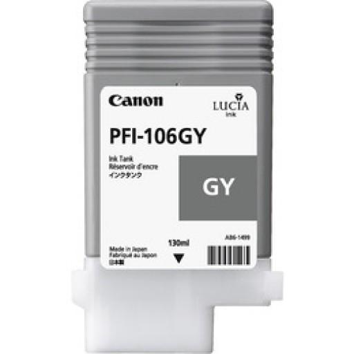 Canon PFI-106GY Ink Tank - Grey, 6630B001AA