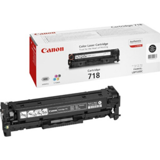 Canon 2662B002AA, Toner Cartridge- Black LBP7200, 7660, MF8330, 8340- Genuine