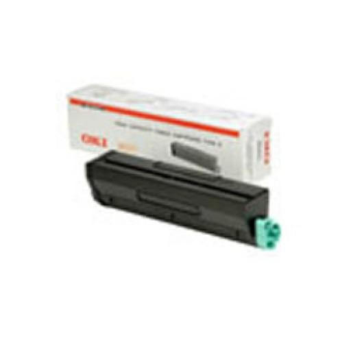 Oki 01101202 Toner Cartridge- HC Black, B4300, B4350- Genuine