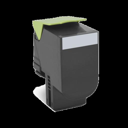 Lexmark 802HK HC Return Program Toner Cartridge - Black Genuine, 80C2HK0