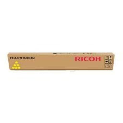 Ricoh 828210, Toner Cartridge Yellow, Pro C651ex, C751ex- Original